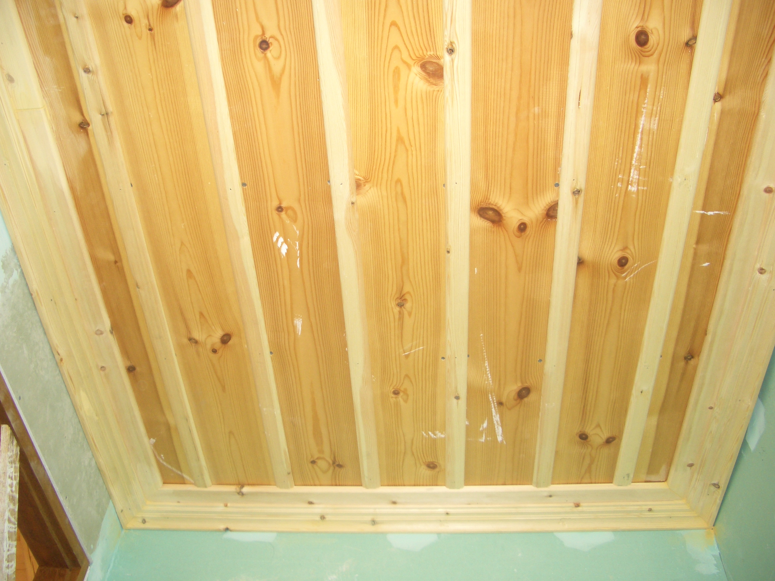 Wooden ceiling - Gythion Mani