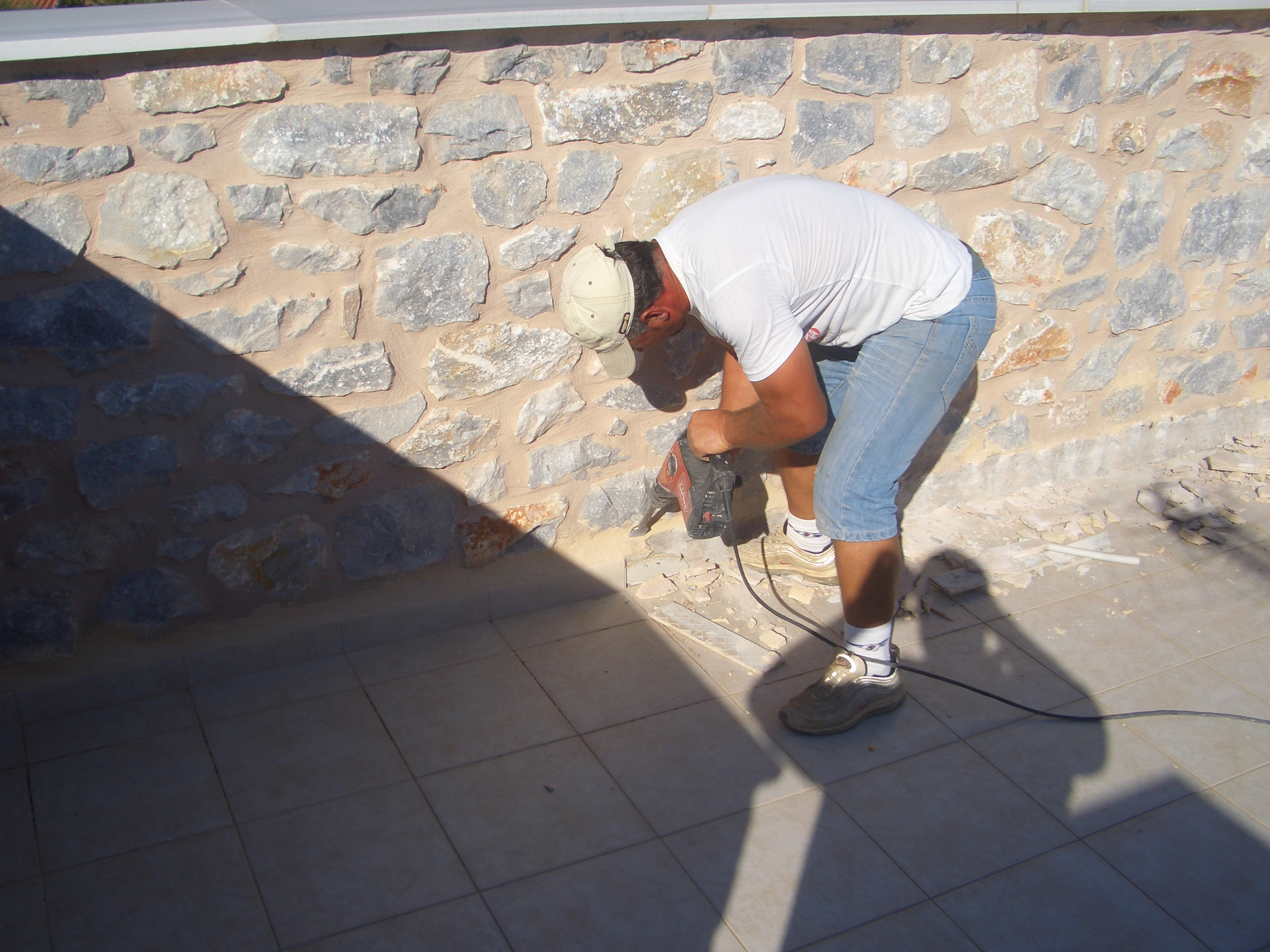 Roof terrace repair & waterproofing
