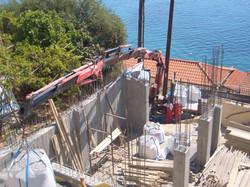 Concrete building frame - Gythion