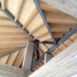 Wooden roof construction - Gythion