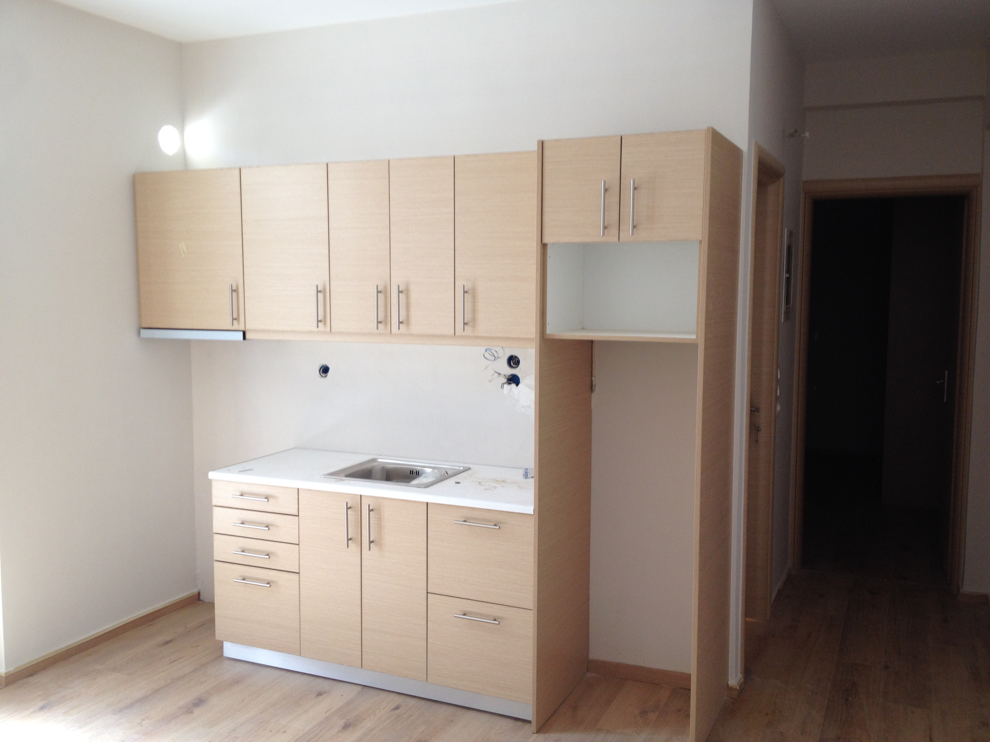 Kitchen cabinets renovation - Gythio