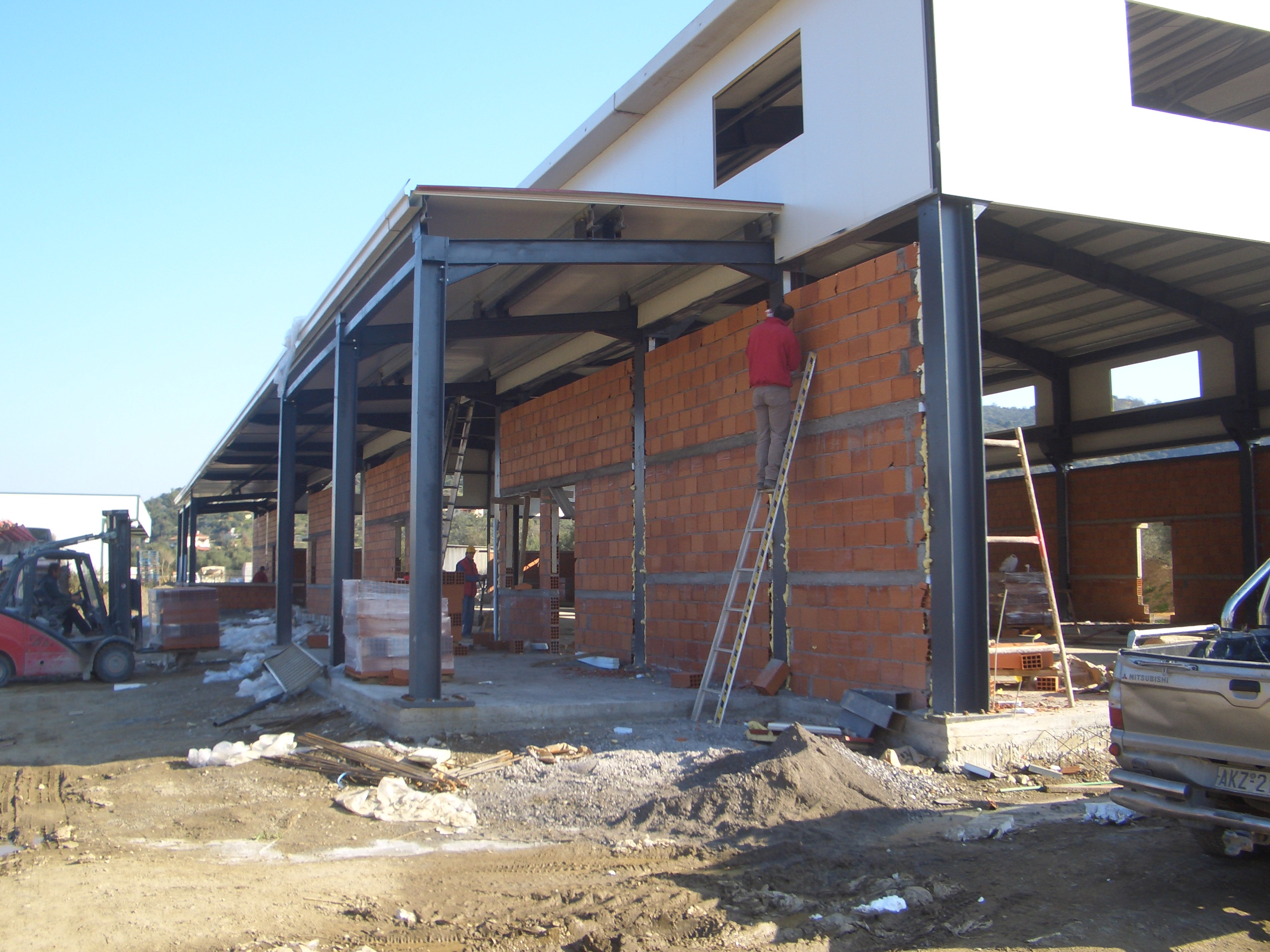 Commercial space construction - Mani