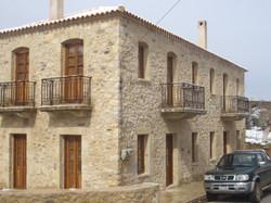 Building restoration - Petrina Mani