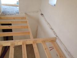 Wooden floor construction - Gythion