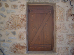 Traditional wooden shutter - Mani