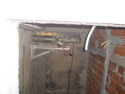 Uninterrupted concrete cutting