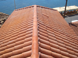 Roof replacement - Gythion Mani