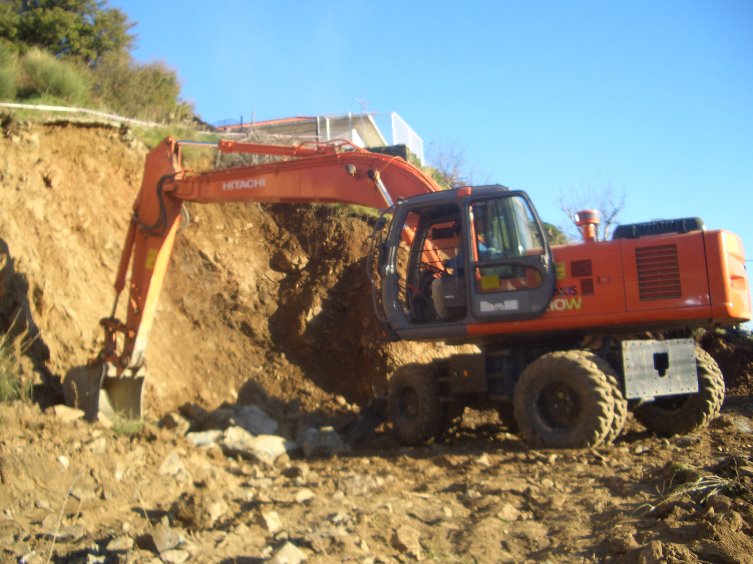 Building excavation - Gytion Mani