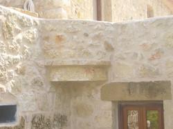 Stonebuilt balcony - Gythion Mani