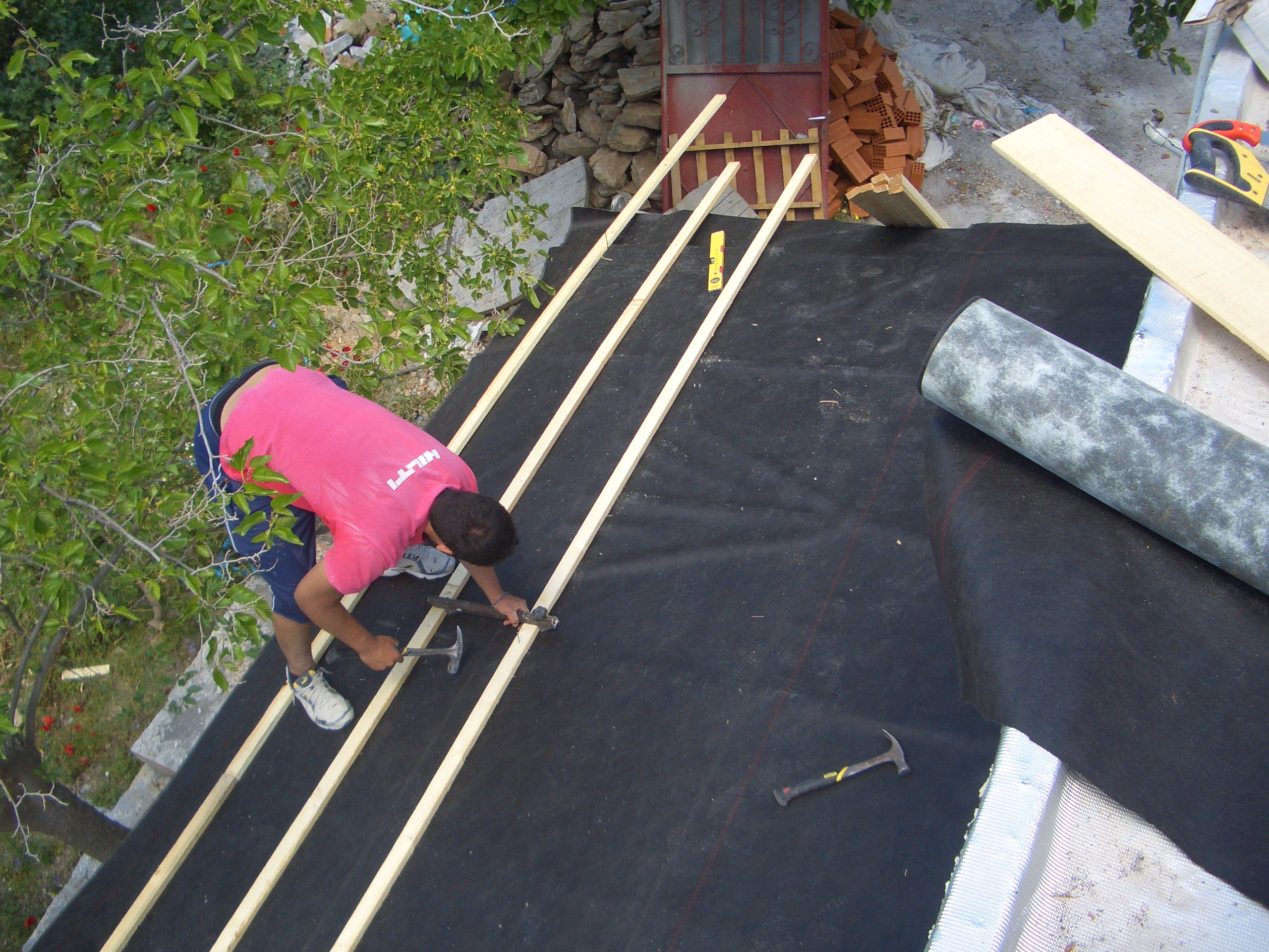 Roof repair & waterproofing - Mani
