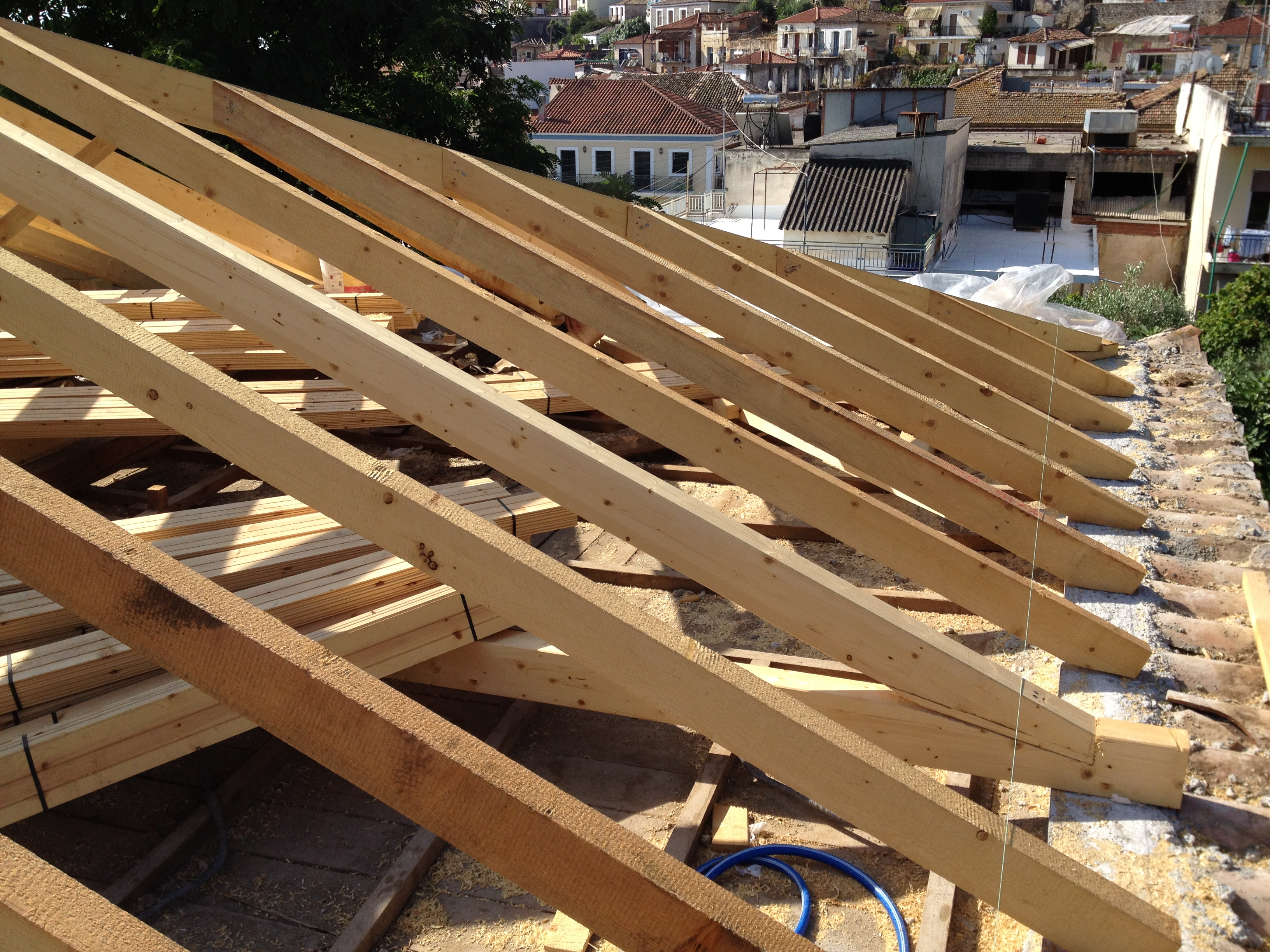 Roof replacement - Gythio Mani