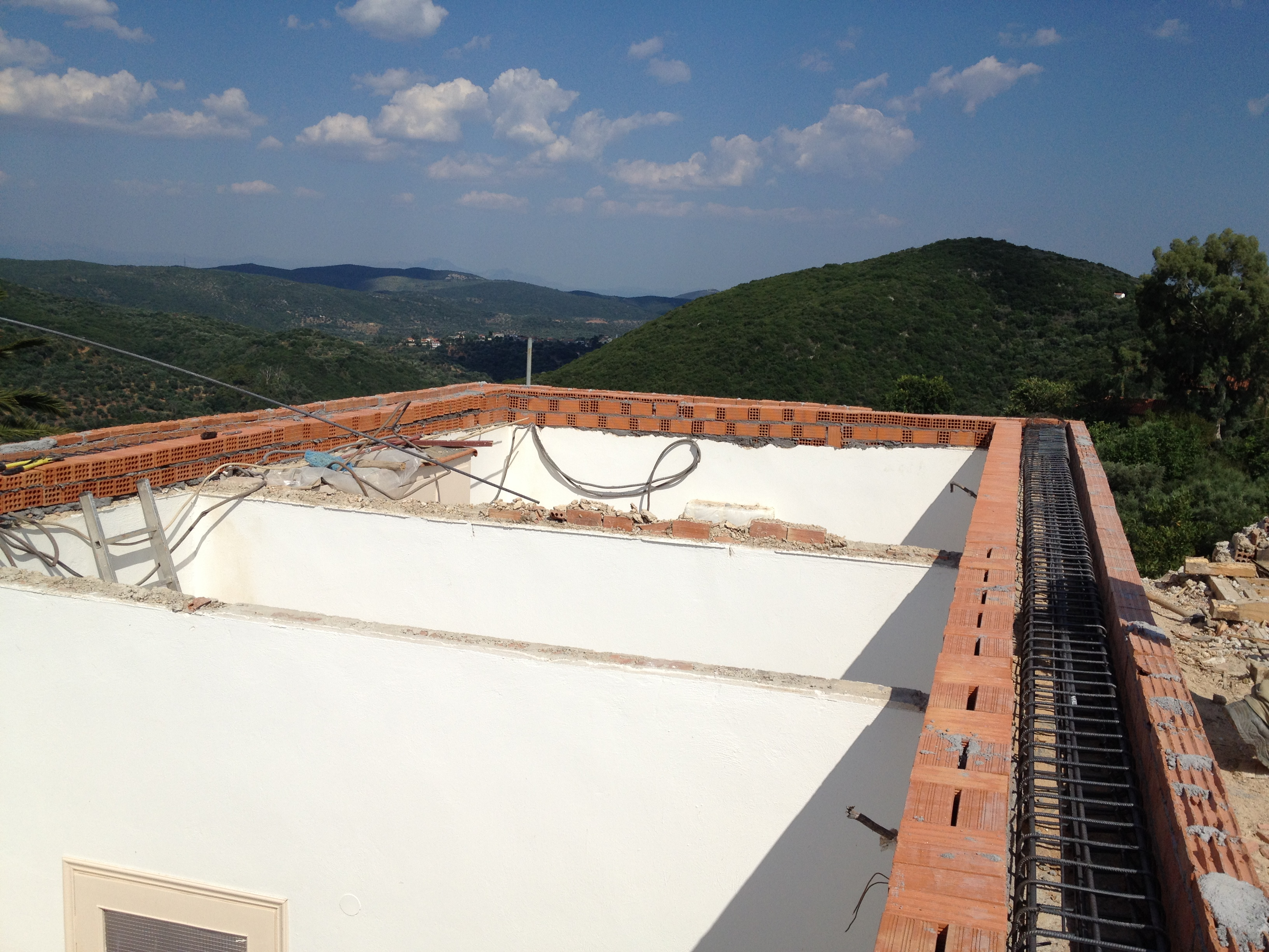 Roof replacemant - Mani Greece