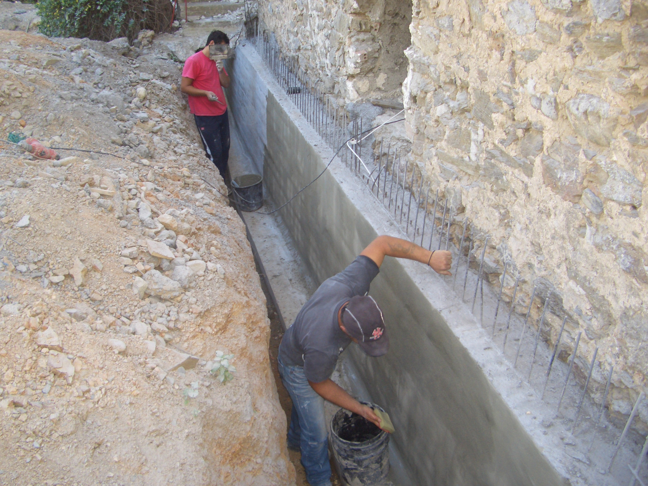 Foundation waterproofing - Mani