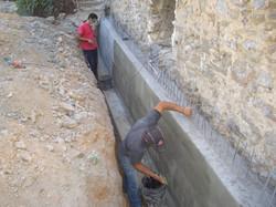Foundation waterproofing - Mani