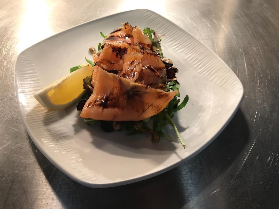 Oak Smoked Salmon Salad