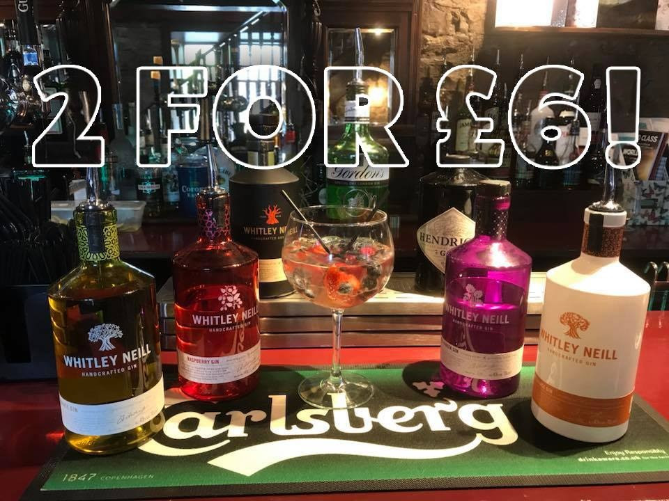 Get 2 for £6 on Friday Nights