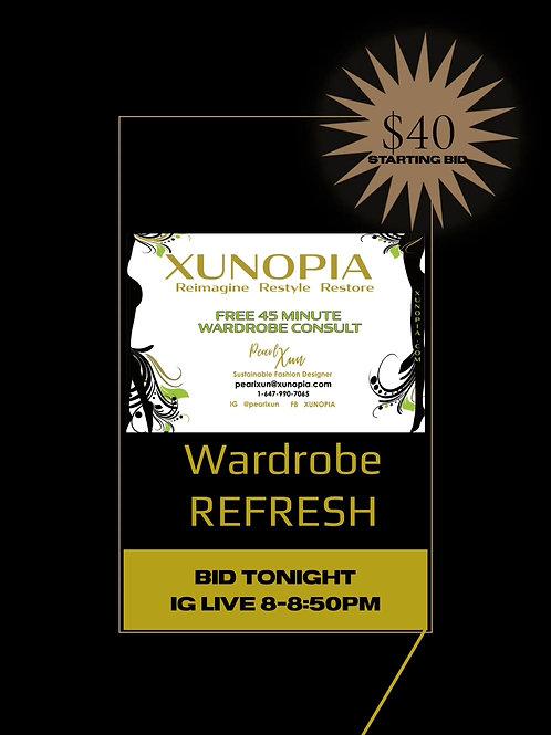 Wardrobe Refresh Services up to $100