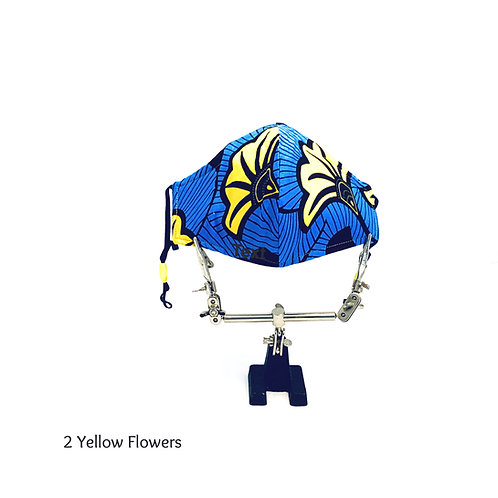 2 Yellow Flowers