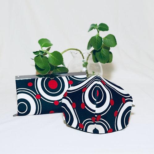 Xun Diva Fabric Clasp & Mask Set