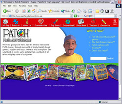 Patch Products Website Design