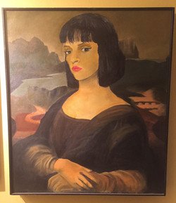 Uma Lisa (Oil on Canvas- 1994)