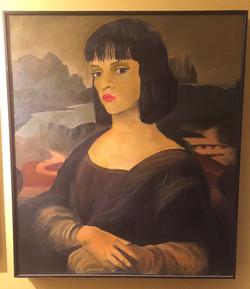 Uma Lisa (Oil on Canvas- 1994)