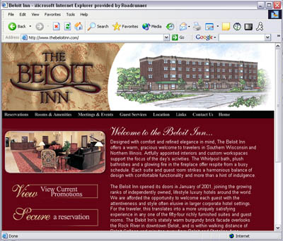 Beloit Inn Website