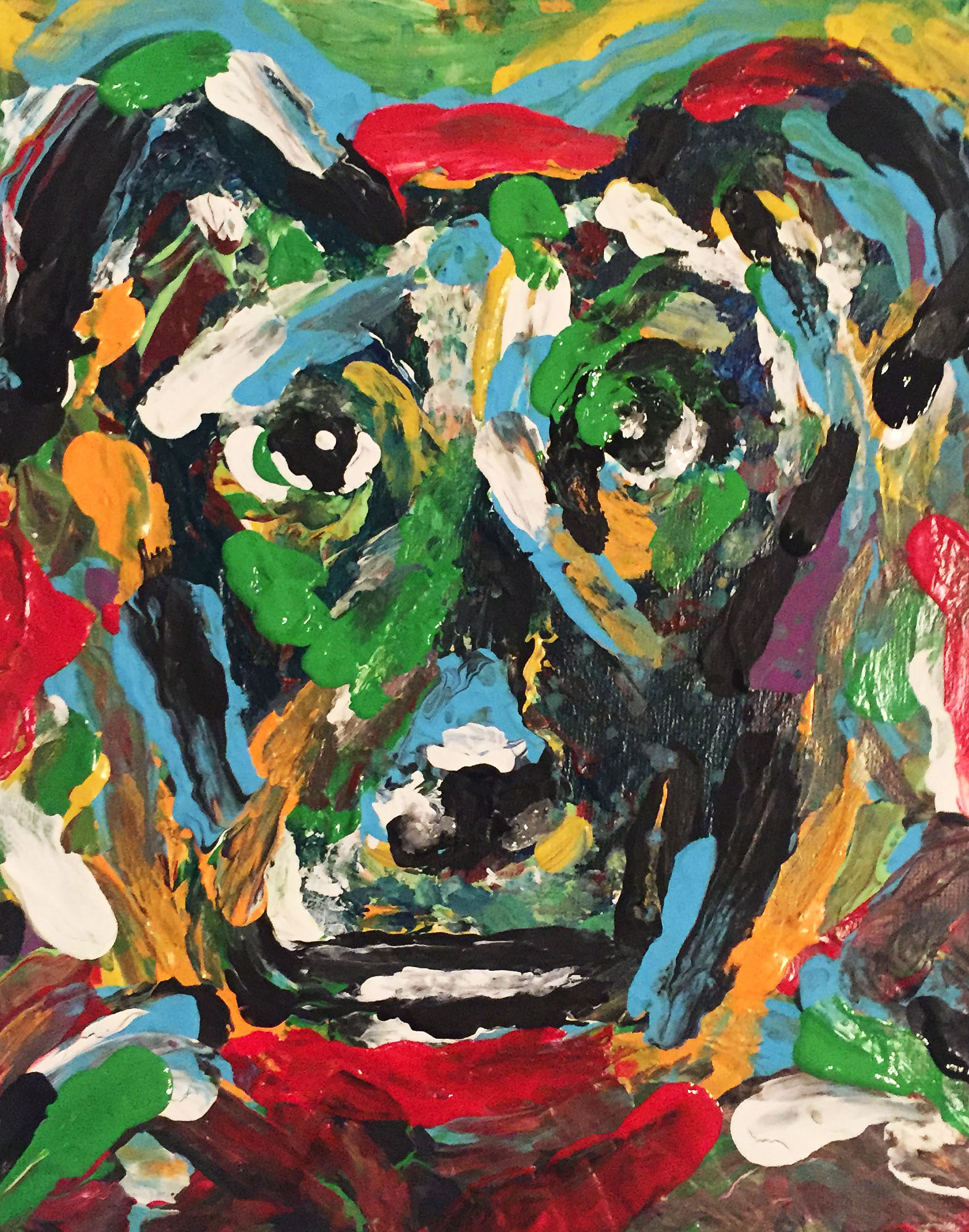 Portrait of Shelby The Dog