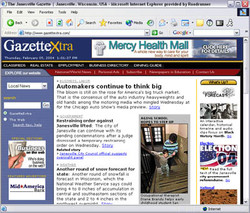Janesville Gazette Website