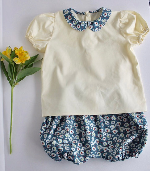 • a l i c e •  blouse & bloomers set
