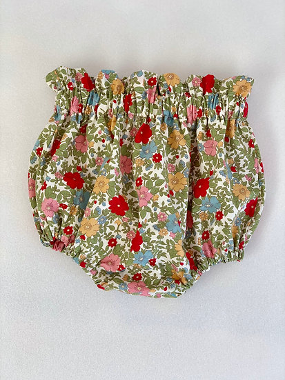 Floral Baby Bloomers | Toddler Bloomers | • n e l l i e • floral bloomers