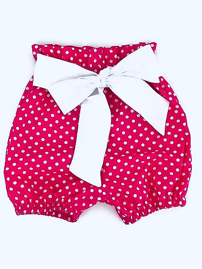 • d a i s y •  bow tie front shorts, girl shorts, bloomer shorts