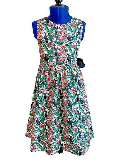 • m a t i l d a •  bow tie back summer dress | Toucans