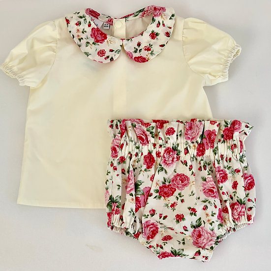 • a l i c e •  blouse & bloomers set (choose your fabric)