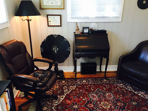 Picture of Old Fashioned Therapy Office