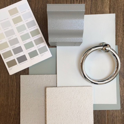 Paint Swatches & Tiles