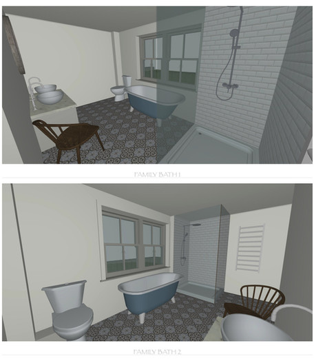 Bathroom Model Visuals