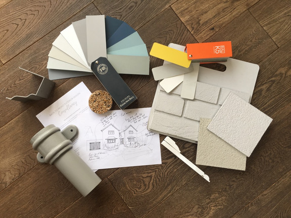 Colour Charts & Material Samples