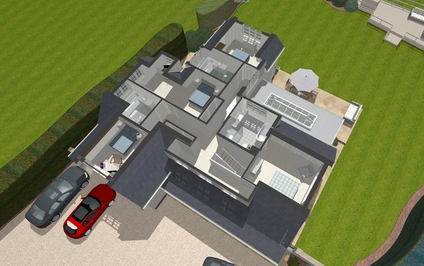 3D Internal Layout Design