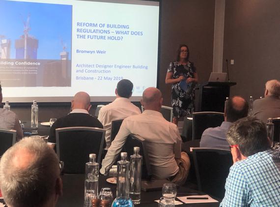 Bronwyn Weir, Shergold Weir Report , Brisbane Seminar