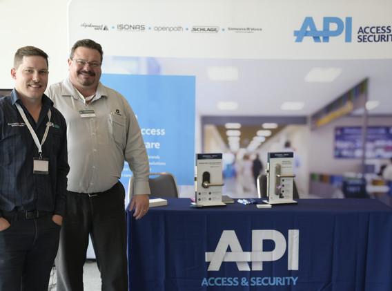 API Paul Pilbeam and Jeremy Berkelaar