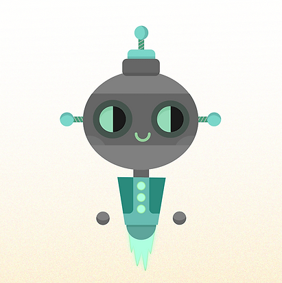 illustratie robotje