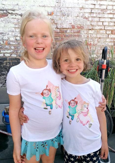 Mona Mabel T-shirt print