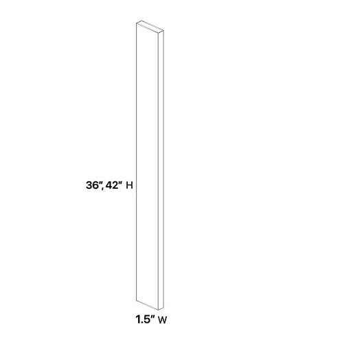Shaker Cabinets Wall Filler 1.5''x 36''