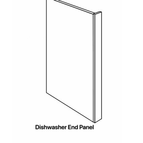 Shaker Cabinets Dishwasher End Panel 23.5'' x 34.5'' x 1/2''