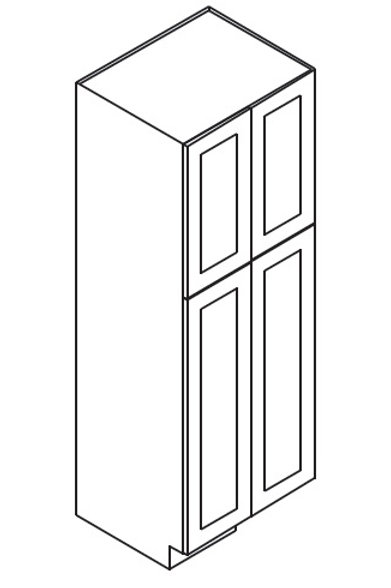 Shaker Style Wall Pantry WP249024