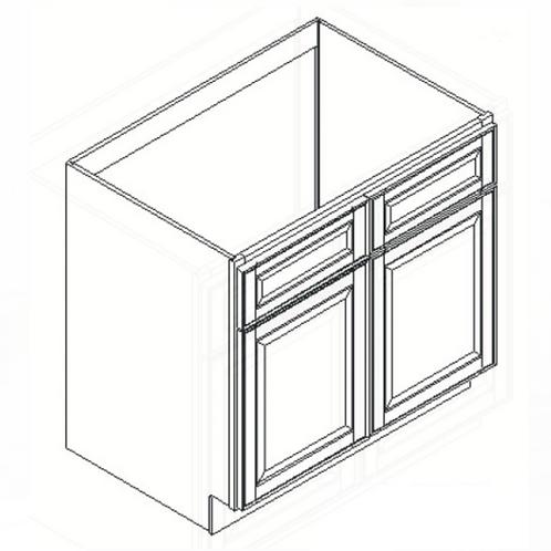 Shaker Style Sink Base Cabinet SB36