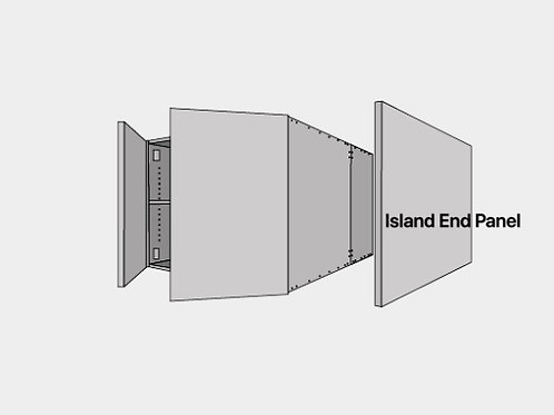 Shaker Cabinets Island End Panel 34.5'' x 36'' x 1/2''
