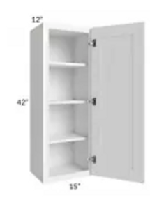 Maple Off-White Shaker Wall Cabinet W1842