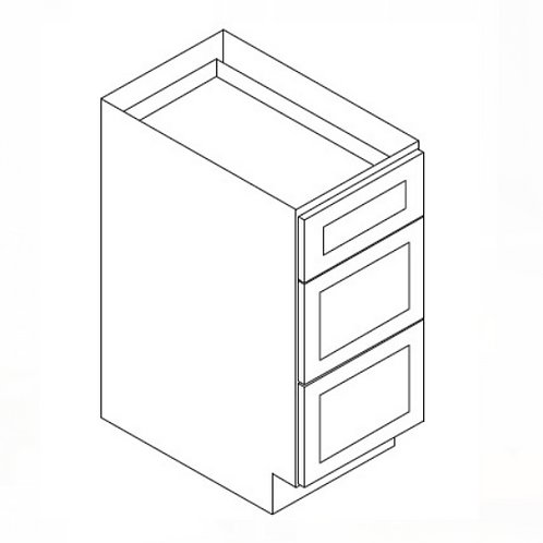 Shaker Style Drawer Base Cabinet DB18